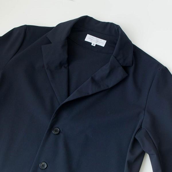 Manual Alphabet マニュアル アルファベット Silo twill 2way stretch jacket : navy サイロ ツイル ストレッチ ジャケット ネイビー
