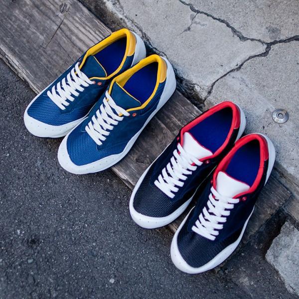 blueover ブルーオーバー  MARTY : Tricolor & Navy + yellow  マーティ トリコロール & ネイビー+イエロー