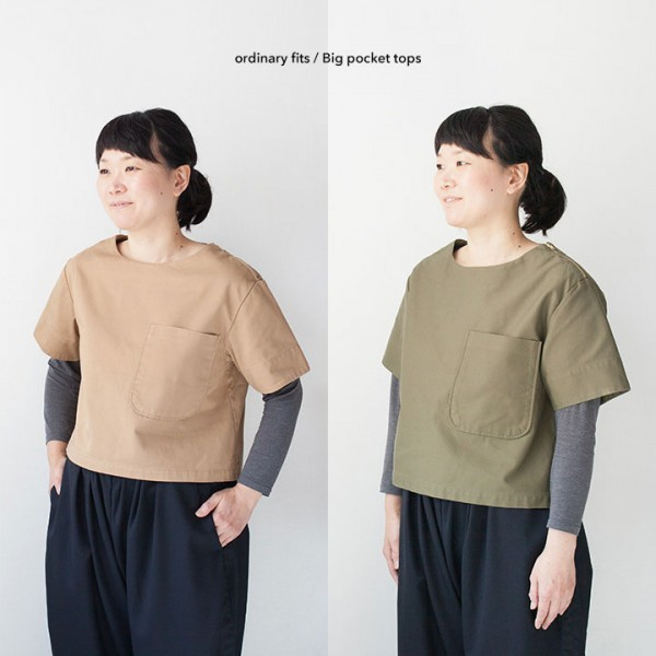 ordinary fits オーディナリーフィッツ  Big pocket tops ビッグ ポケット トップス