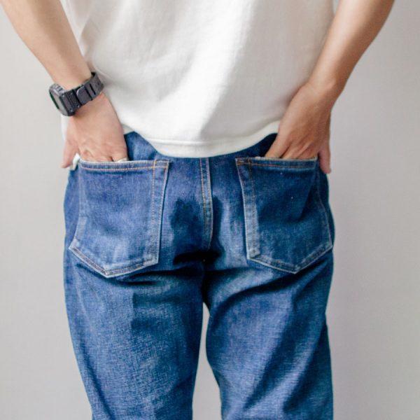 【Men's&Ladies'】ordinary fits オーディナリーフィッツ  5pocket ankle denim : used  5ポケット アンクレット デニム ユーズド
