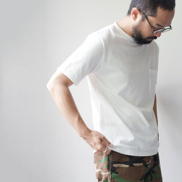 PAW パウ / Pocket T-shirt white  ポケット Tシャツ ホワイト