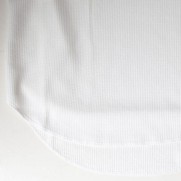 PAW パウ / Waffle round tank top : off white  ワッフル ラウンド タンクトップ : オフホワイト