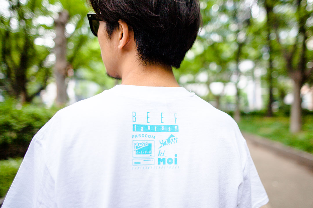 beef fantasy ビーフ ファンタシー CD virtua beach ヴァーチャ ビーチ Tシャツ USB