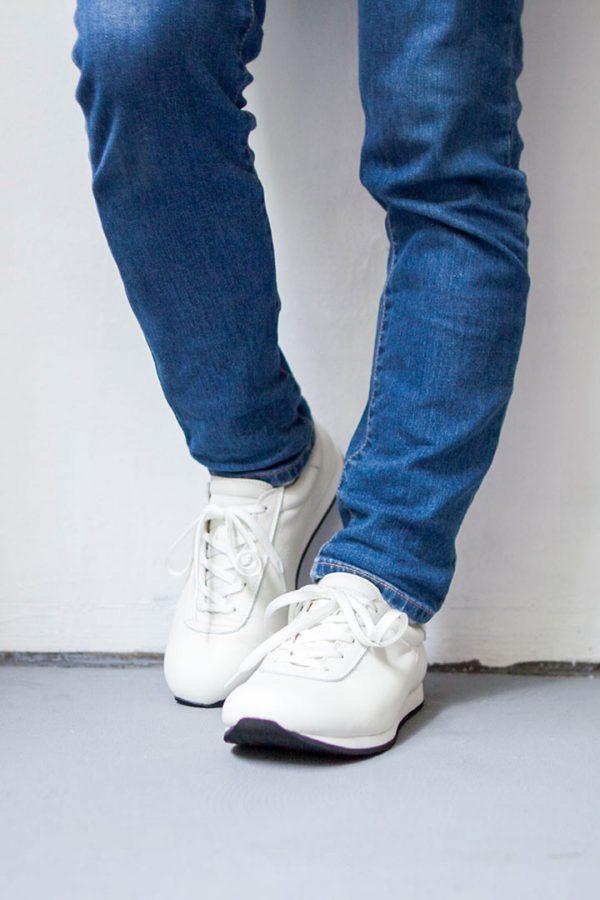 blueover ブルーオーバー Mikey マイキー : smooth leater white スムースレザー ホワイト