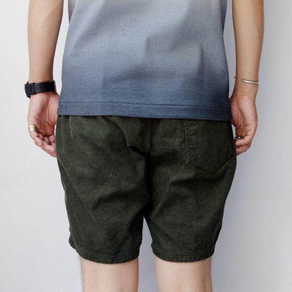Manual Alphabet マニュアル アルファベット  O.D vintage corduroy easy shorts  O.D ビンテージ コール イージー ショーツ