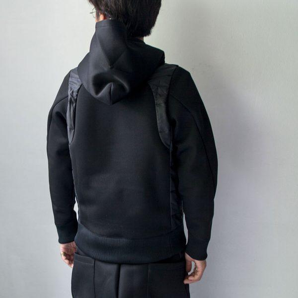 RYU リュー / Raschel pullover parka ラッセル プルオーバー パーカー