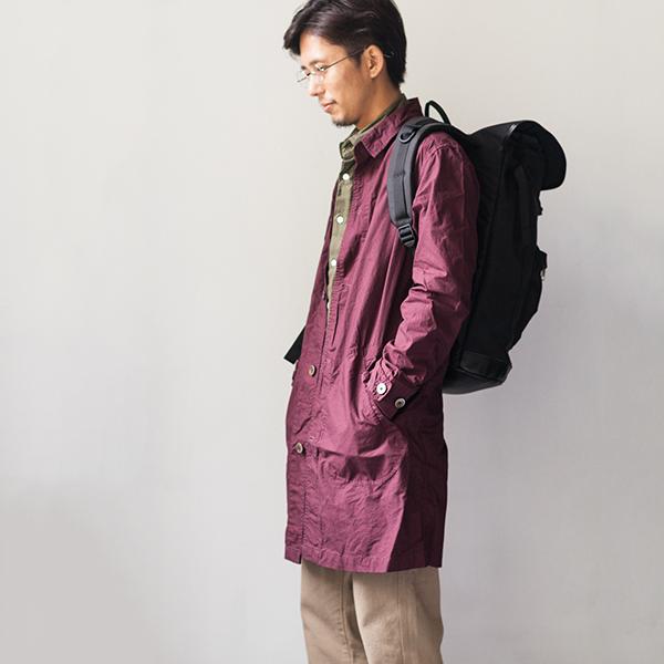 Manual Alphabet マニュアル・アルファベット shirt coat シャツコート 16 AW