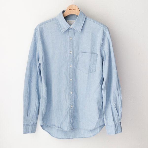 マニュアルアルファベット / Chambray  oxford classic fit shirts シャンブレー オックスフォード シャツ