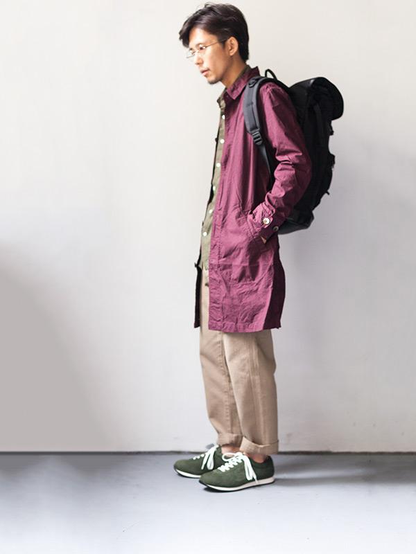 Manual Alphabet マニュアルアルファベット shirt coat シャツコート