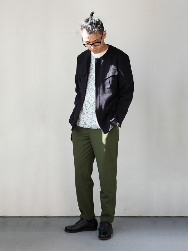 wrapinknot ラッピンノット 2017 ss  Crossed Line ミリタリー military