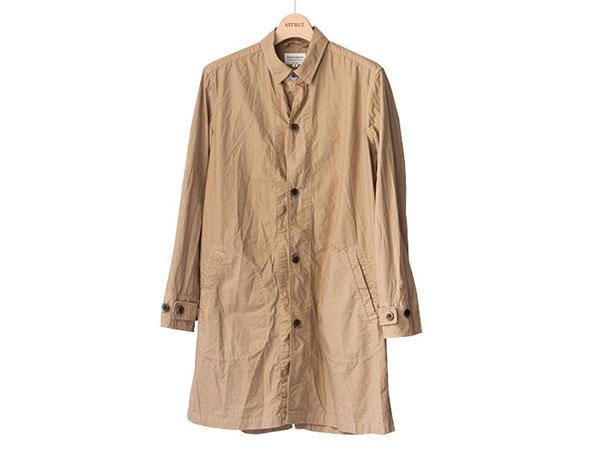 マニュアルアルファベット manual alphabet シャツコート 2017 shirt coat beige ライトベージュ