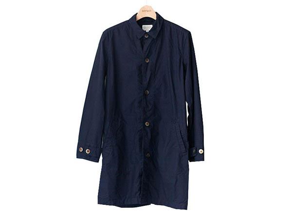 マニュアルアルファベット manual alphabet シャツコート 2017 shirt coat navy  ネイビー