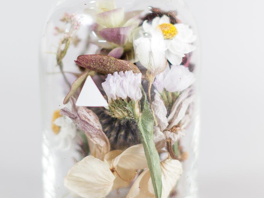 母の日 ギフト ドライフラワー Bottle by buffett struct 花束