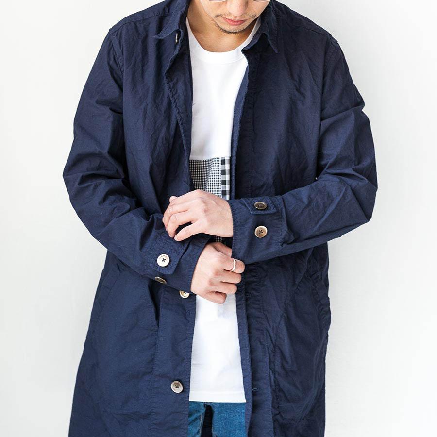 マニュアルアルファベット manual alphabet シャツコート 2017 shirt coat