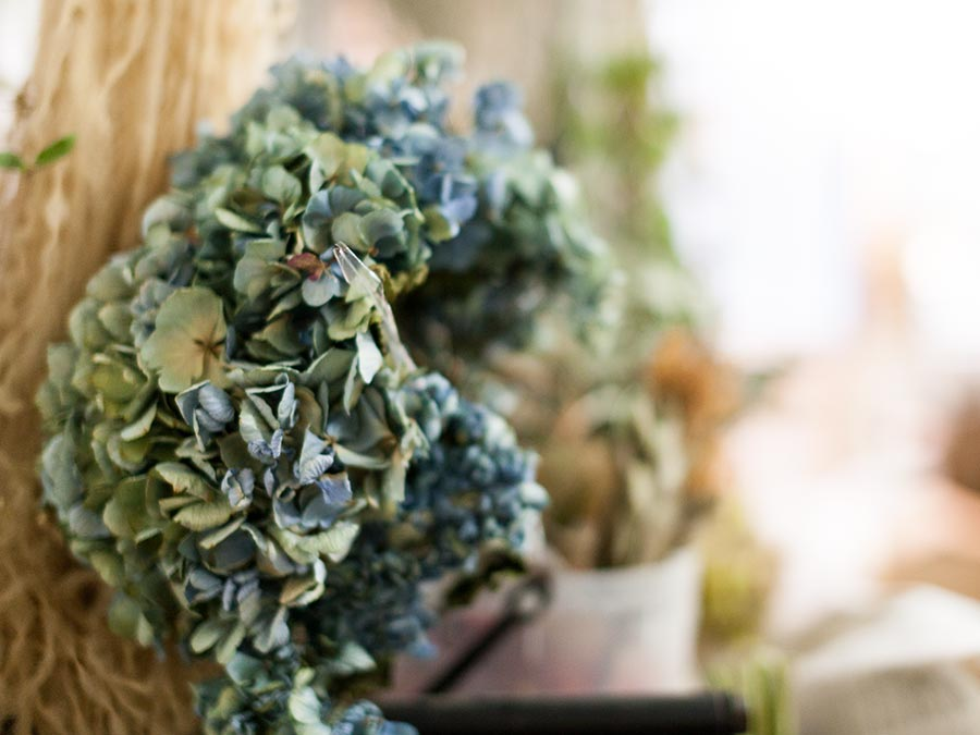bottle by botanist buffett バフェット 母の日 紫陽花のドライフラワー