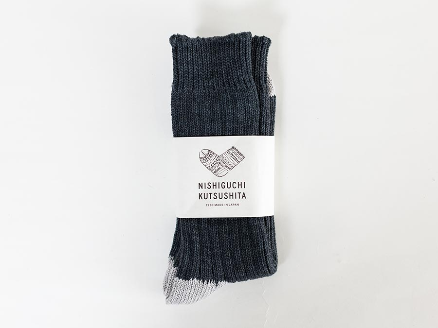 NISHIGUCHI KUTSUSHITA 西口靴下 靴下 はくひとおもい メンズ レディース 商品写真全体