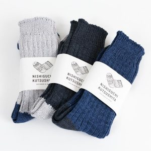 NISHIGUCHI KUTSUSHITA 西口靴下 靴下 はくひとおもい メンズ レディース 商品写真トップ