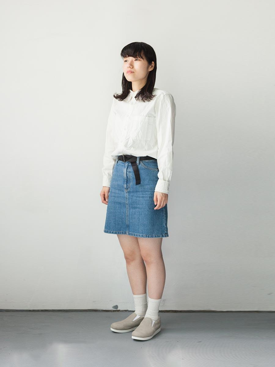 blueover 2017ss 新作 スリッポン zuk ズク 着装いつき全身