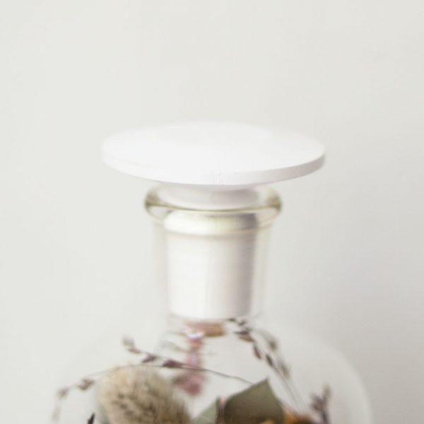 母の日 ギフト ドライフラワー Bottle by buffett struct  石膏の蓋