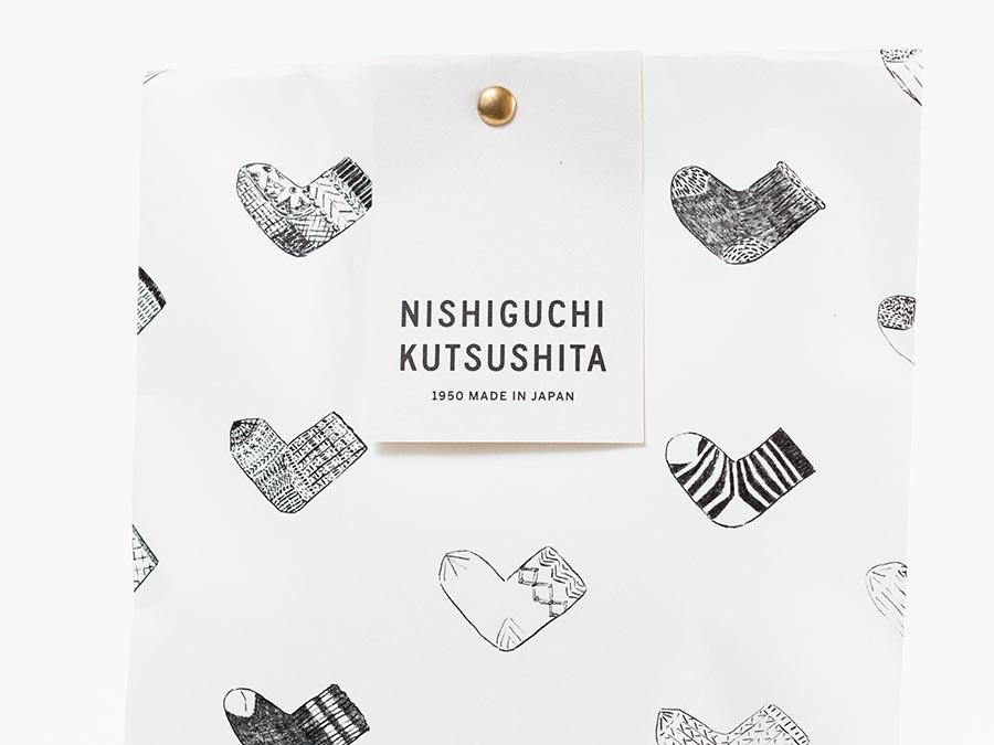 nishiguchi kutsushita ニシグチクツシタ  ギフト ラッピング