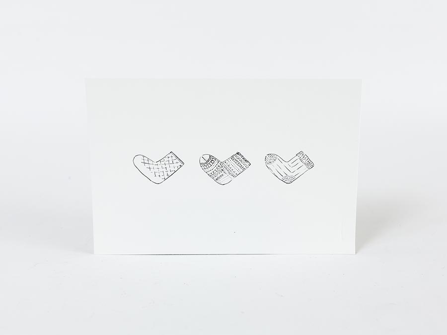 nishiguchi kutsushita ニシグチクツシタ  ギフト ポストカード