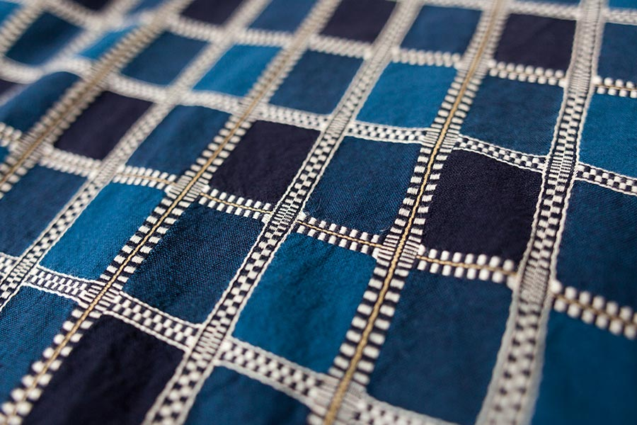 藍染 刺し子についてとKUON2017 プルオーバーシャツ 完売