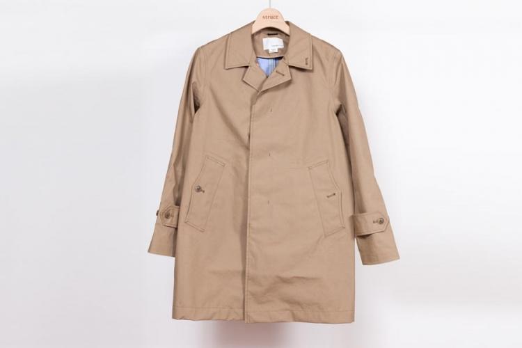 nanamica ナナミカ cotton gore-tex soutien collar coat 製品画像ベージュ 2017