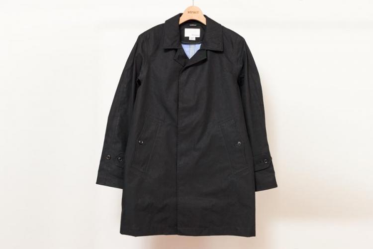 nanamica ナナミカ cotton gore-tex soutien collar coat 製品画像 ブラック 2017