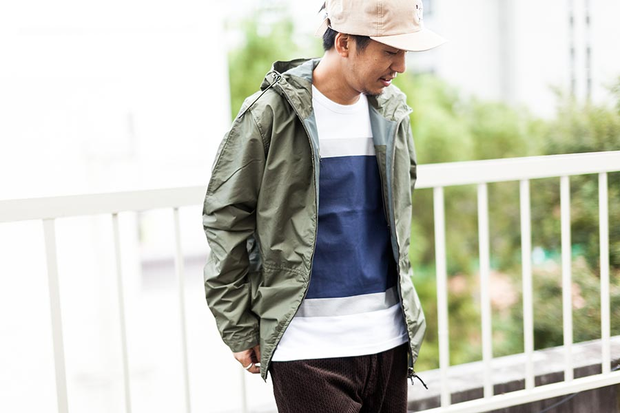 struct 2017 Autumn Winter A/W セレクト ALOYEの長袖が綺麗に覗く