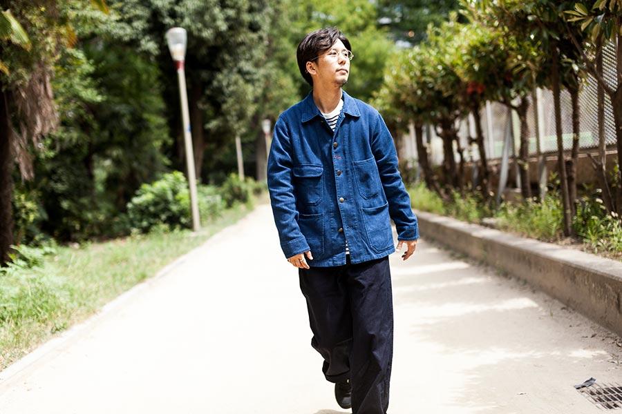 struct 2017 Autumn Winter A/W セレクト blueblue japanのシャツジャケット