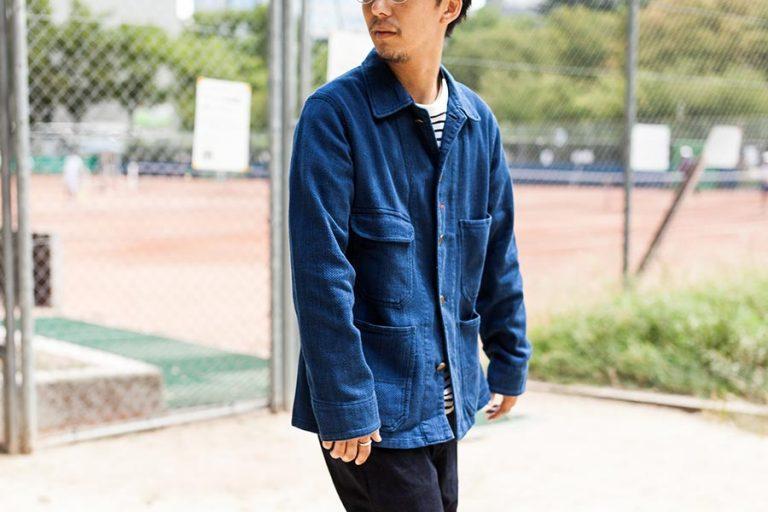 blue blue japan ブルーブルージャパン 大阪 取り扱いスタート レイルロードマン 着衣