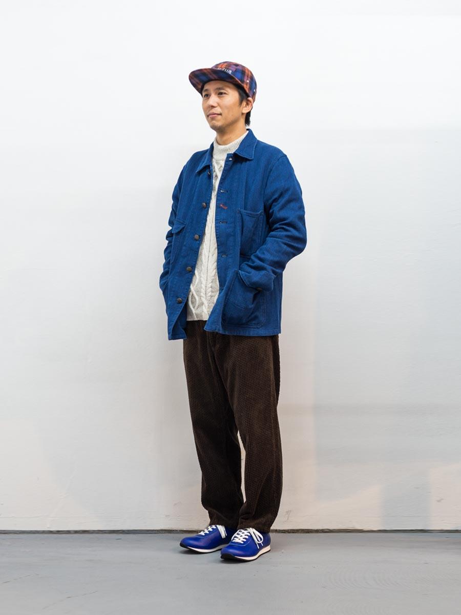 blue blue japan ブルーブルージャパン 大阪 取り扱いスタート レイルロードマン 全身
