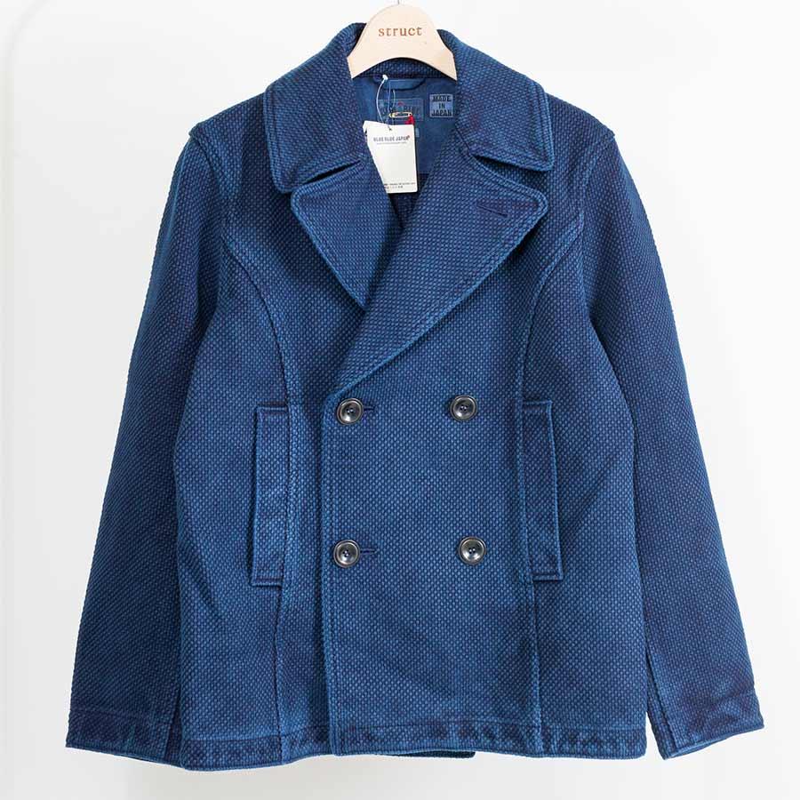 ブルーブルージャパン blue blue japan 大阪 藍染 定番Pコート