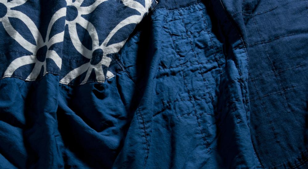 ブルーブルージャパン blue blue japan 大阪 藍染 生地 綺麗
