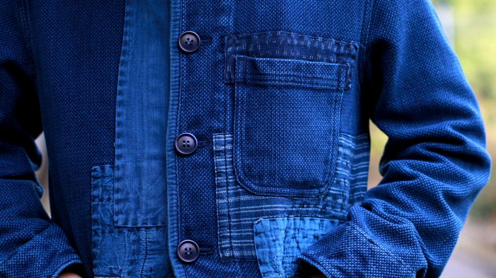 ブルーブルージャパン blue blue japan 大阪 藍染 パッチワーク